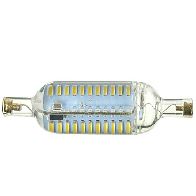 R7S Dimmable 7W 700lm 3500/6500K 76-SMD 4014 LED Warm/Cool White Light Bulb Lamp (AC 220-240V)