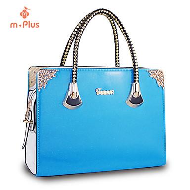Buy M.Plus® Women's Fashion Rivet PU Leather Messenger Shoulder Bag/Tote
