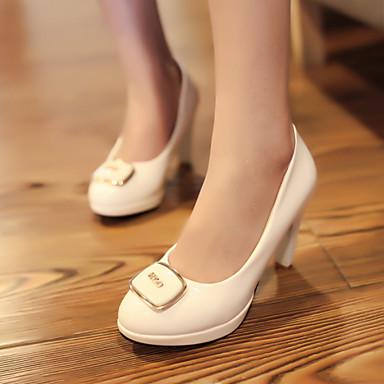 Buy Women's Shoes Heel Heels / Platform Office & Career Dress Casual Black Red White/B-12