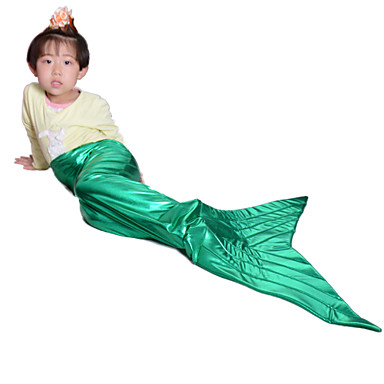 Buy Green mermaid tail kids tails girls halloween costumes children cosplay party fancy dress