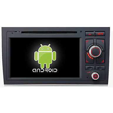 Buy Android 4.4.4 Car DVD Player GPS AUDI A4 Quad-Core Contex A9 1.6GHz,Radio,RDS,BT,SWC,Wifi,3G