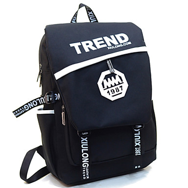 Buy Fengtu Fashion 30l Nylon Sports Bag Backpack Schoolbag Men Women Casual Black Computer Handbag Blue