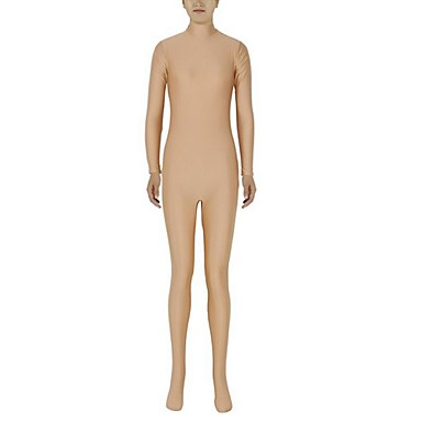 Buy Unisex Zentai Suits Lycra / Spandex Flesh colored