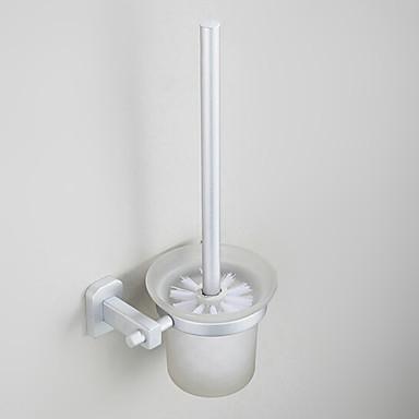 Portascopino Per Anodizzazione A Muro 28 23 18cm Alluminio