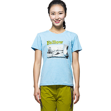 Buy KORAMAN Women's Summer Short Sleeve T-shirt Printing Breathable Quick-dry