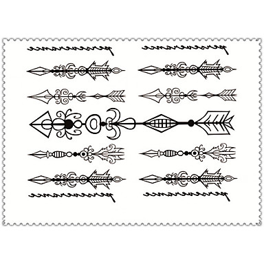 Buy Fashion Cartoons Body Art Waterproof Temporary Tattoos Sexy Tattoo Stickers (Size: 3.74'' 5.71'')