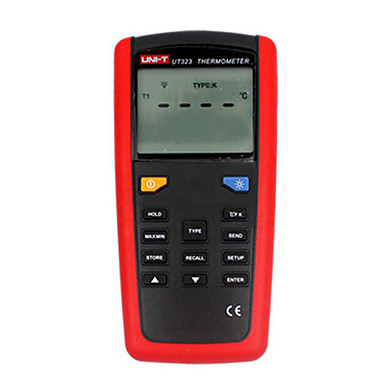 Buy UNI-T UT323 Red Thermometer