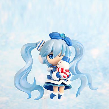 Buy Lovely Snow Band Hatsune 7CM PVC Model Doll Toys Anime Action Figures