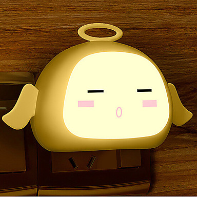 Creative Warm White Angel Light Sensor Relating To Baby