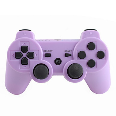Purple Ps3 Controller Wireless Controller fo...