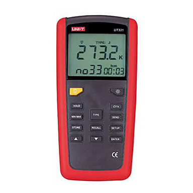 Buy UNI-T UT321 Red Thermometer