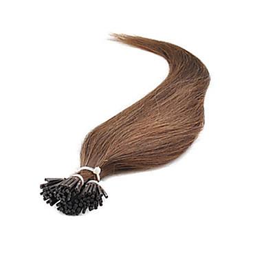 """18""""-30"""" Brazilian Human Hair Extensions Keratin I Tip Hair 1g/s 100g/pack Human Hair Extension In Stocks"""