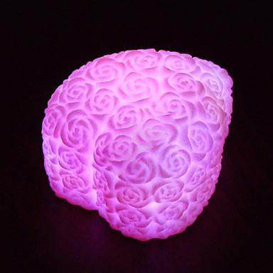 7 Colors Rose LED Night Light Decoration Candle Rose Light ...