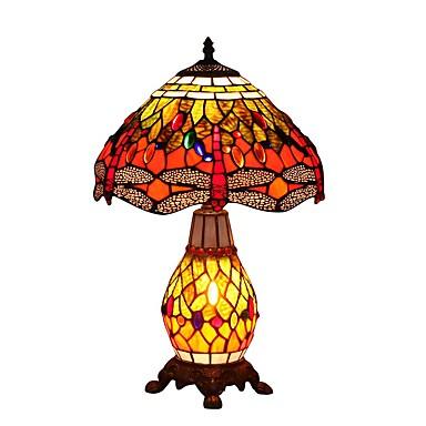 60W Stile Tiffany Lampade da tavolo , caratteristica per ...