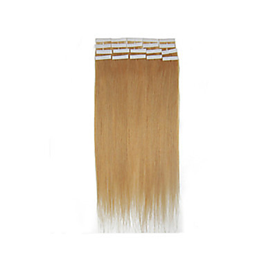 "18""-28"" Brazilian Hair Extension PU Skin Weft Hair Extension 2.5g/pc 40pcs/pack Tape In Hair Extension In Stocks"
