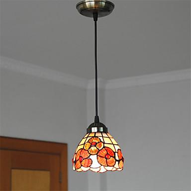 5 inch retro tiffany pendant lights shell shade living room dining room light. Black Bedroom Furniture Sets. Home Design Ideas