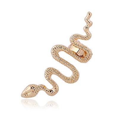 Buy Unisex Fashion Gold/Silver Snake Tassel Ear Cuffs Earrings Jewelry (1 PC,10g)
