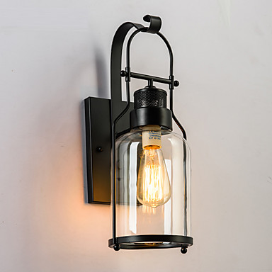 vintage Industry Glass Wall Lights Living Room Dining Room,Kitchen Cafe Bars Bar Table ...