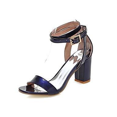Scarpe donna sandali ufficio e lavoro casual tacchi a for Ufficio bianco e blu