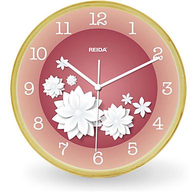 Moderno contempor neo otros reloj de pared redondo madera - Reloj de pared moderno ...