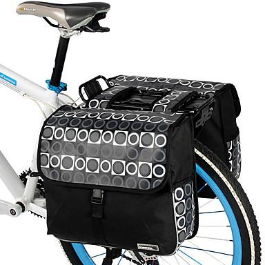 Buy ROSWHEEL® Bike Bag 28LPanniers & Rack Trunk / Shoulder Waterproof Shockproof Wearable Bicycle PVC 600D Polyester Cycle