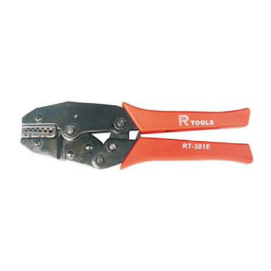 Buy Ratchet Crimping Tool RT-301E European Sleeve-type Insulated Terminal Pliers Network Clamp