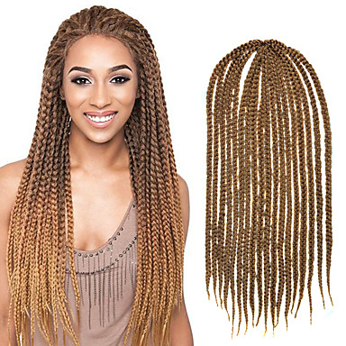 Crochet Braids Medium Box Braids : ... Medium Box Braid 24 Kanekalon 3 Strands 100g Hair Braids Free Crochet