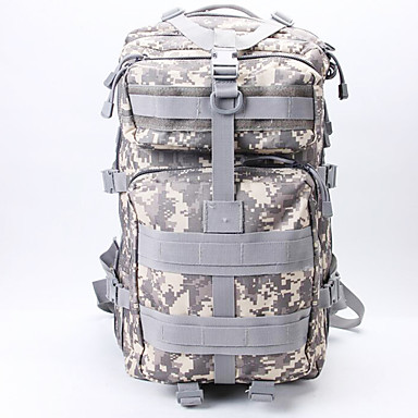 Buy 50 L Hiking & Backpacking Pack / Backpack Camping Outdoor Multifunctional Army Green Nylon
