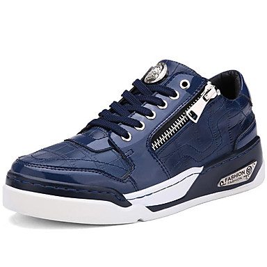 men's shoes patent leather athletic / casual sneakers