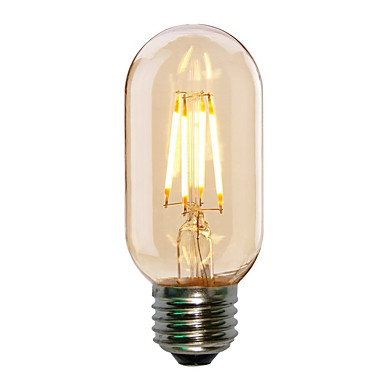 4w e27 t45 edison style antique led filament tubular light. Black Bedroom Furniture Sets. Home Design Ideas