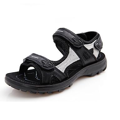 boy s sandals summer leather casual platform others black