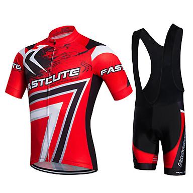 Fastcute Αθλητική φανέλα και σορτς ποδηλασίας Γυναικεία Ανδρικά ... 2f3925e488c