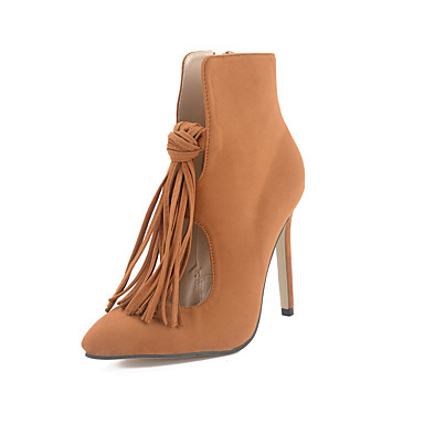 s boots tassel pointed toe stiletto boots bootie