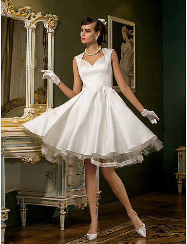 Lanting Bride® A-line Petite / Plus Sizes Wedding Dress - Chic ...