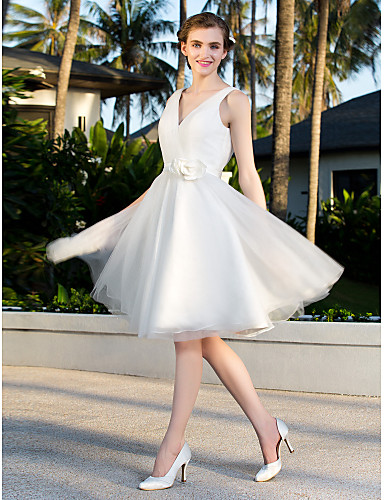 Vestidos de noiva baratos curtos