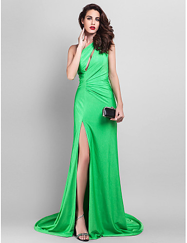 vestido sereia verde
