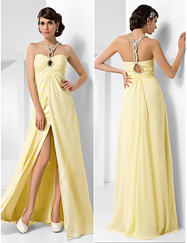 Buy TS Couture® Prom / Formal Evening Military Ball Dress - Beautiful Back Plus Size Petite A-line Princess Sweetheart Floor-length Chiffon