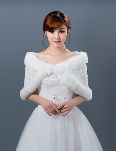 Winter wedding robe coat bridesmaid dresses shawl 4431870 for Winter shawls for wedding dresses