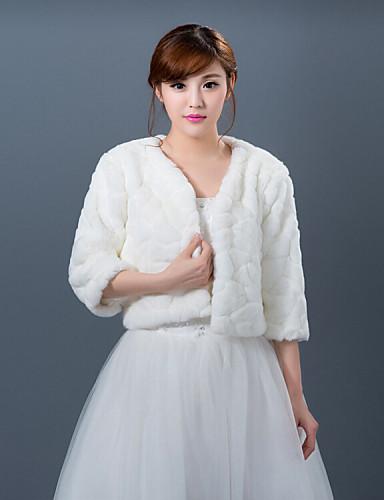 Winter wedding robe coat bridesmaid dresses shawl 4431859 for Winter shawls for wedding dresses