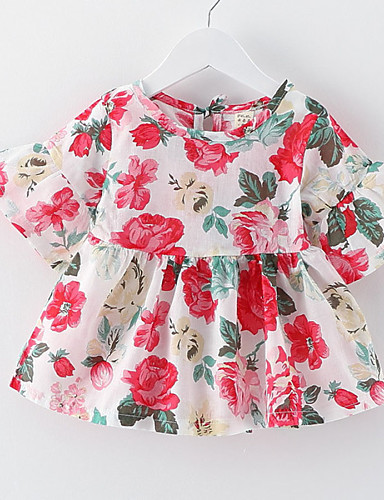 Buy Girl's Floral Sundress Lovely Baby Korean Kids Clothes Dresses