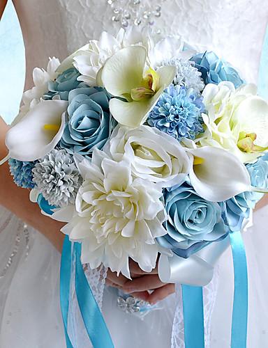 Vintage Millinery / Hydrangea Bouquet / Light Blue / Cotton |Light Blue Hydrangea Bouquet