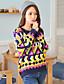 HYS Dame Totem Jacquard Strikning Sweater
