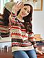 HYS Kvinders geometrisk mønster Sweater