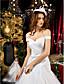 Lanting Bride® A-lijn / Prinses Appel / Omgekeerde driehoek / Recht / Slank / Zandloper / Peer / Petite Bruidsjurk - Klassiek & Tijdloos