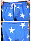 Nyomtatott / Kockás Férfi Melegítőnadrágok,Casual / Sport / Molett méret,Pamut keverékFekete / Kék / Barna / Zöld / Piros / Fehér / Bézs