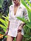 Damen Einteiler / Strandkleidung - Einfarbig Einzelteil Polyester Halfter