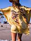 Damen Einteiler / Strandkleidung - Floral Drahtlos / Polsterloser BH Baumwoll-Mischungen Bandeau