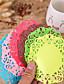ボヘミアンテーマ-コースター(レッド / ピンク / チョコレート / グリーン / ブルー / イエロー,高品質EVA)