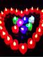 Stearinlys favoriserer-10 Piece / Set Stearinlys Holdere Ikke-personalisert Rød