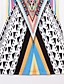レディース セクシー お出かけ ビーチ ルーズ ドレス,プリント ストラップ 膝上 ノースリーブ ポリエステル 夏 ミッドライズ マイクロエラスティック
